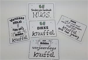 Gratis knuffel-kaartje bij elke bestelling