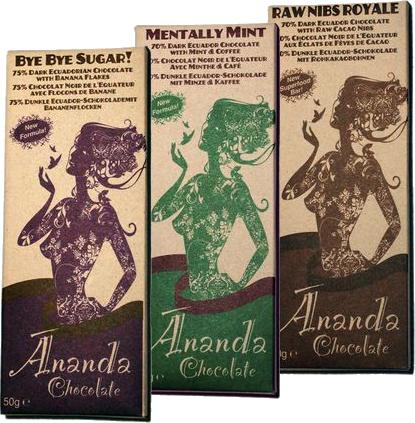 Aanbieding: 3x Ananda Chocoladerepen, 25% korting!