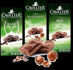 Verwend worden met Chocolade