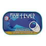 Makreelfilet in zonnebloemolie, 25% korting!