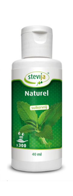 SteviJa Vloeibaar Naturel, 40ml