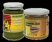 BIO Voordeelpakket: Pompoenpittenpasta en Zonnebloempasta