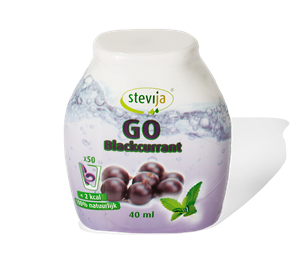 Stevia GO <br />Blackcurrant